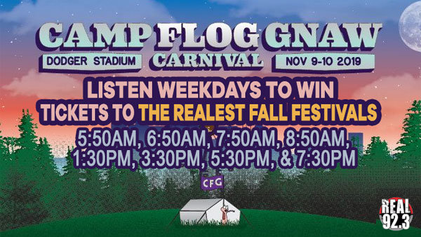 None - CAMP FLOG GNAW CARNIVAL 2019 (11/9 & 11/10) (2-Day Passes)