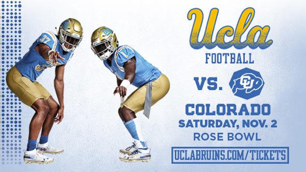 None - UCLA Bruins vs. Colorado Football (11/2) (4-pack)