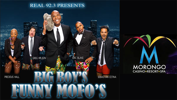 None - REAL 92.3 Presents Big Boy's Funny Mofo's (11/15) (4-pack)