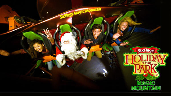 None - Six Flags Magic Mountain Holiday in the Park (4-pack)
