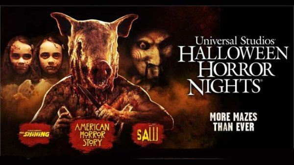 Universal Studios Halloween Horror Nights (4-pack) | Contest ...