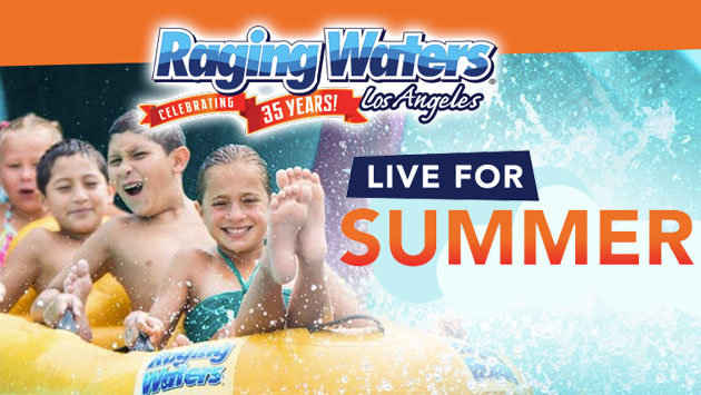 Raging Waters Los Angeles (4-pack)