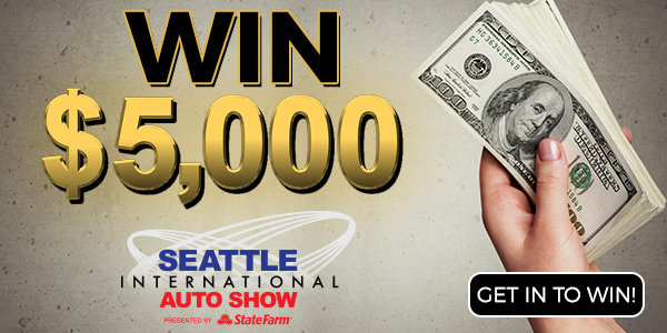 Touch A Truck for $5,000 at the Seattle International Auto Show!