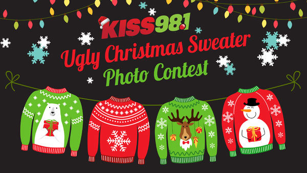 None - Ugly Christmas Sweater Photo Contest!