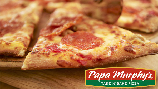 image for Enter to Win Papa Murphy's Pizza for a Month!