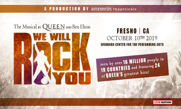 None - We Will Rock You: The Musical