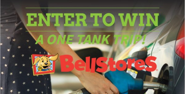 None - One Tank Trip from BellStores & Sunny 101.7