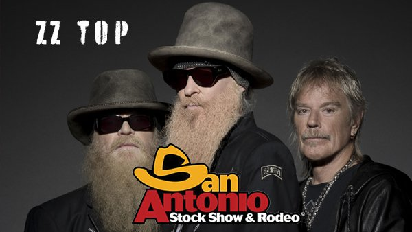 None - Win a pair of tickets to see ZZ Top at the San Antonio Stock Show and Rodeo on February 14th!