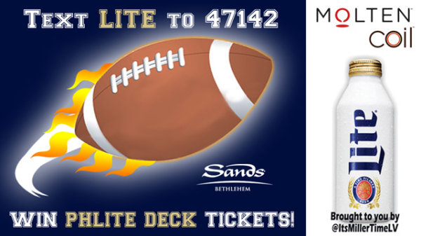 None - AMOE: Win Miller Lite Phlite Deck Tickets!
