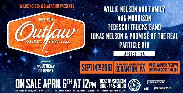 Register To Win Tickets To The Outlaw Festival!
