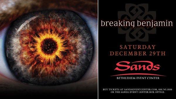 Win Tickets to Breaking Benjamin at SBEC!