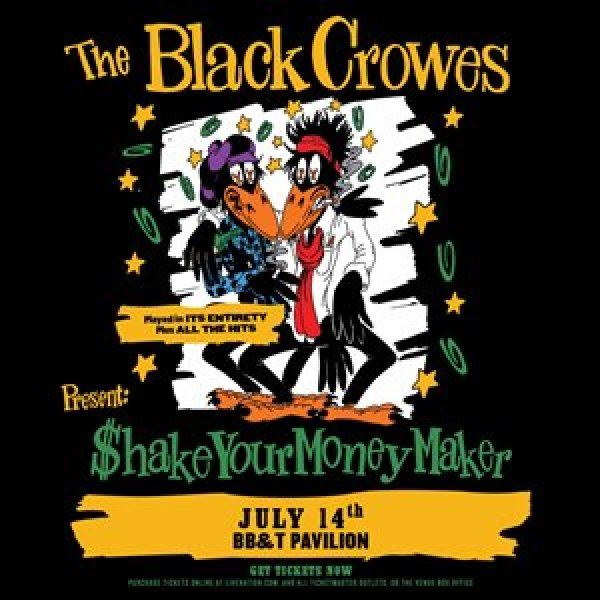 None - Register To Tickets To The Black Crowes!