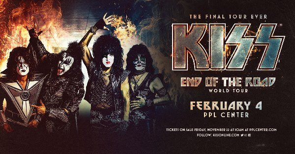 None - KISS at PPL Center in Allentown-Win Tickets Here!