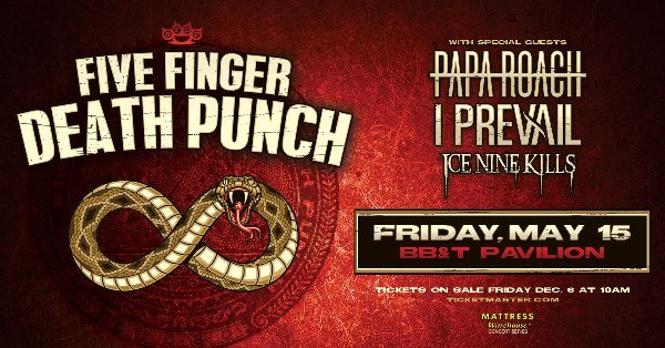 None - Win Tickets to See FFDP and Papa Roach!