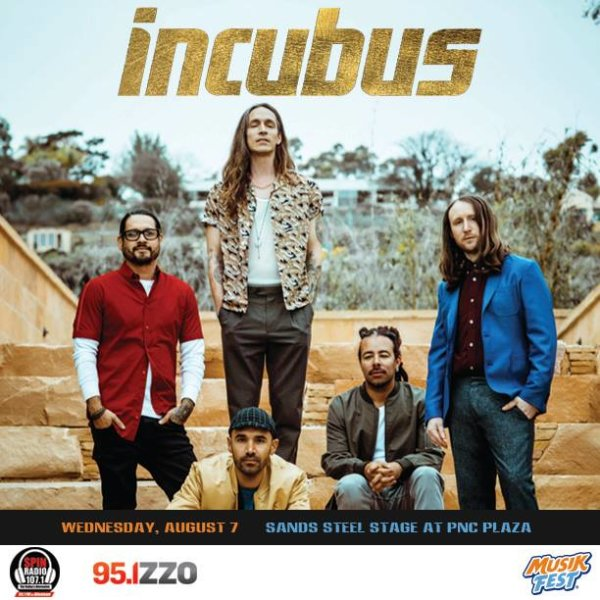 None - Win Tickets to See Incubus at Musikfest!