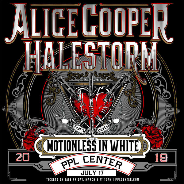 None - Win Tickets To See Alice Cooper and Halestorm at PPL Center!