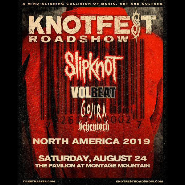 None - Win Tickets To See Slipknot in Scranton on Aug 24th!