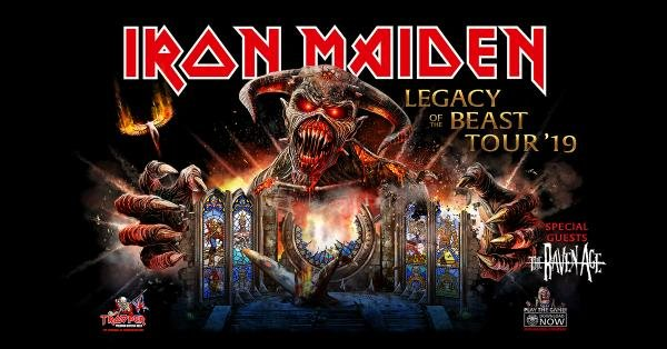 None - Enter to win tickets to see Iron Maiden