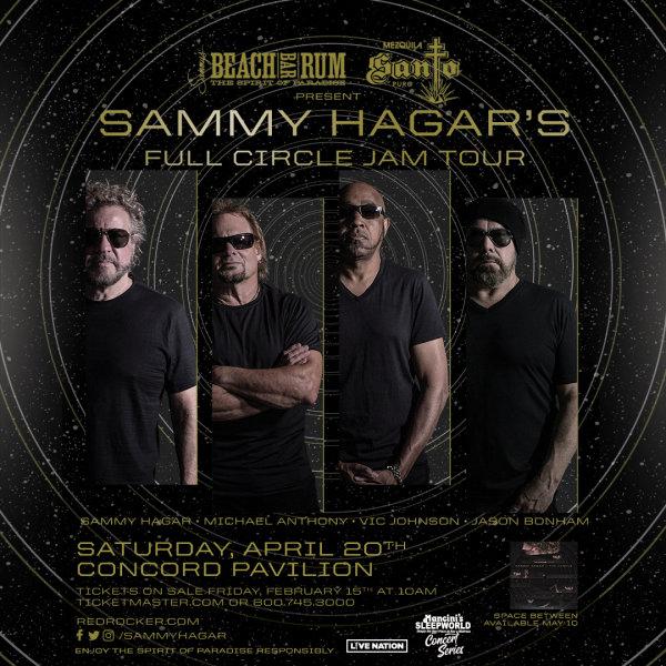 None - Win Sammy Hagar Tickets!