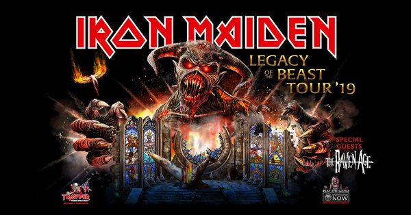 None - Win a pair of tickets to see Iron Maiden!