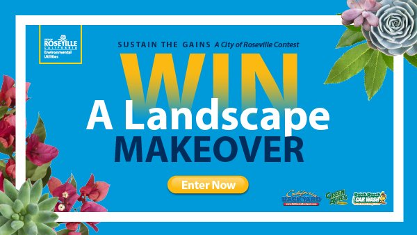 None - Win a Low Water-Use Landscape Makeover!