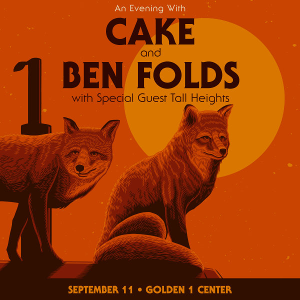 None - Win Cake + Ben Folds Tickets!
