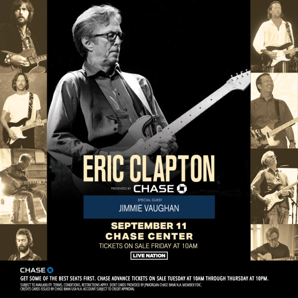 None - Win Eric Clapton Tickets!