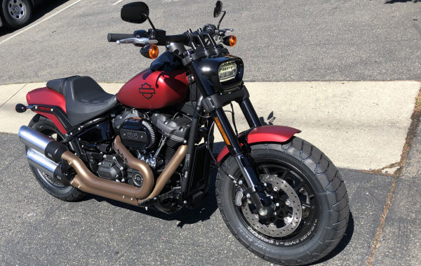 None - Win a 2019 Harley Davidson Soft Tail Fat Bob from 93.7 The River!