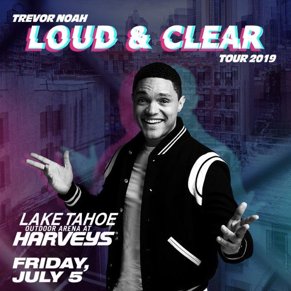 None - Win Trevor Noah Loud & Clear 2019 Tickets!