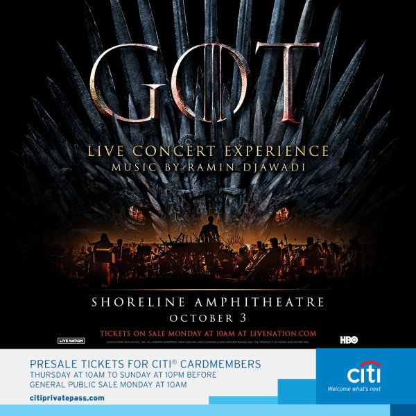 None - Win Game of Thrones Live Concert Experience Tickets!