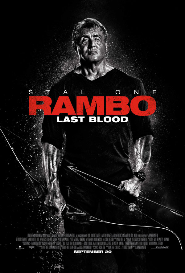 None - Win movie passes to see Rambo Last Blood!