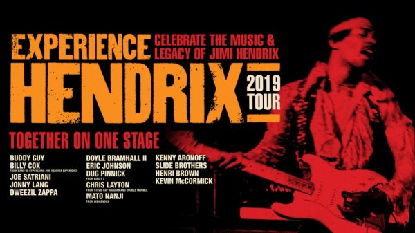 None - Win tickets to Experience Hendrix 2019 Tour