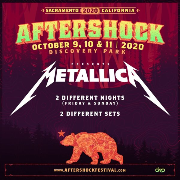 None - Win 3-Day Passes to Aftershock 2020!