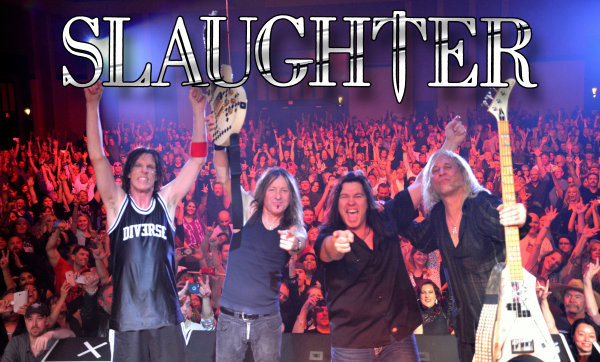None - Win a pair of tickets AND Meet & Greets to see Slaughter!