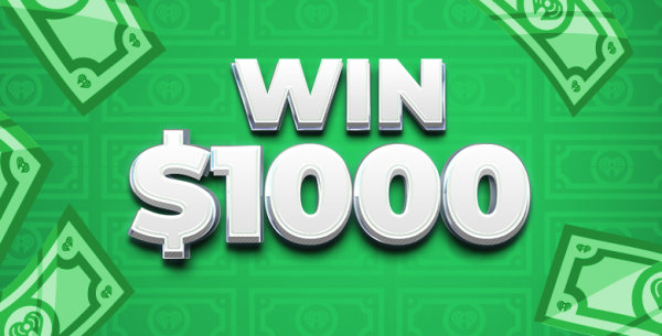 None -    Win $1,000 From Heaven 600!