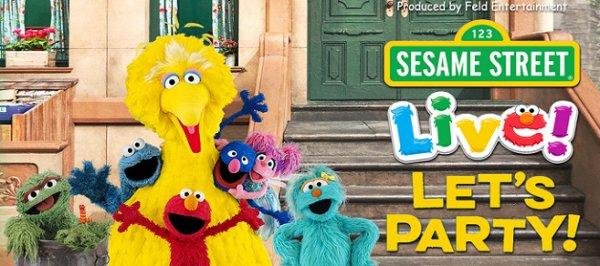 None - Sesame Street Live! Let's Party! Dec. 11th @ Beaumont Civic Center