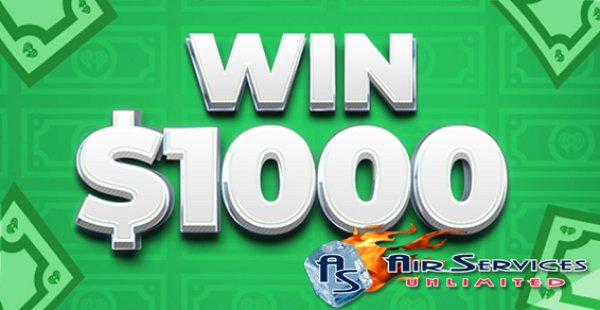 None - Listen to Win $1,000 Every Hour 5am-9pm!