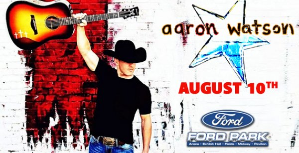 None - Aaron Watson Aug. 10th @ Ford Park, Beaumont