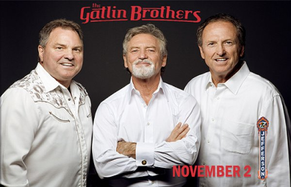 None - Win Tickets To The Gatlin Brothers Nov. 2nd @ Jefferson Theatre, Beaumont