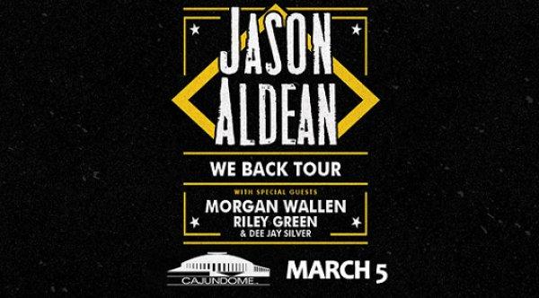 None - Win Tickets To Jason Aldean March 5th @ The Cajundome, Lafayette