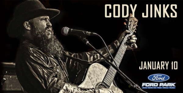 None - Win Tickets To Cody Jinks Jan. 10th @ Ford Park, Beaumont