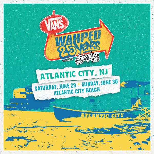 None - 25 Years of Van's Warped on the Beach in AC!