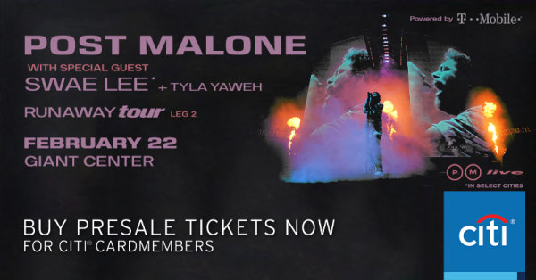 None - Post Malone at Giant Center