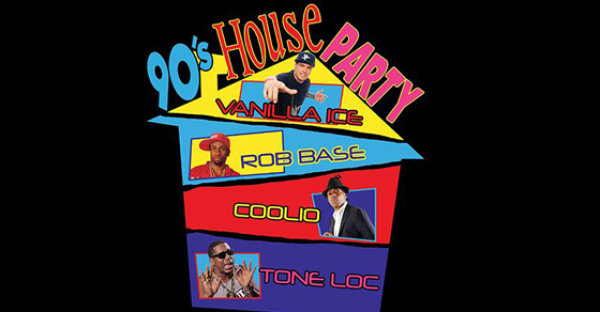 None - Win tickets to the 90's House Party!