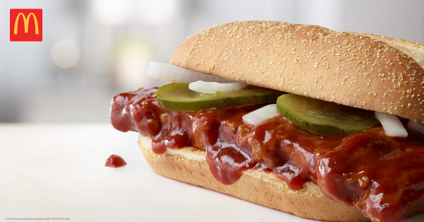 None - Win a McRib meal for four from McDonalds!