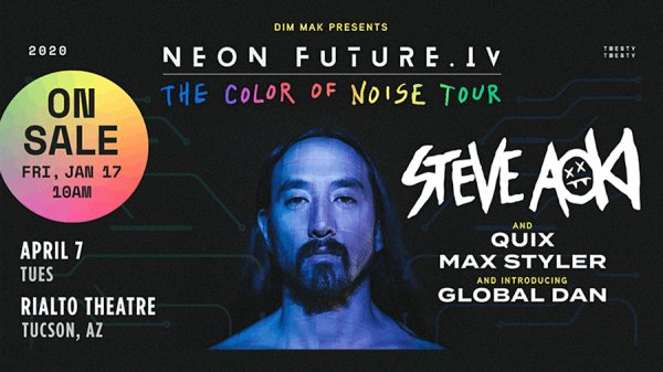 image for Win tickets to Steve Aoki