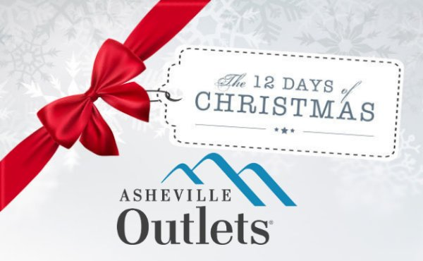 None - Win a 12 Days of Christmas Prize Pack from Asheville Outlets!