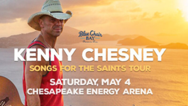 None - Win Kenny Chesney Tickets! May 4th At Chesapeake Energy Arena