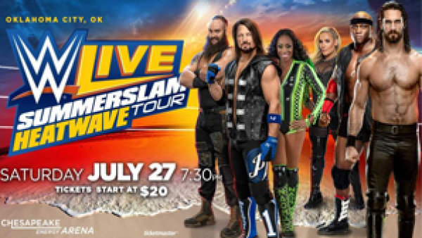 None - Win WWE Summerslam Heatwave Tickets