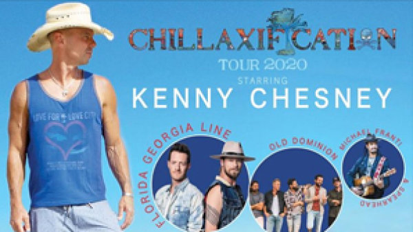 image for Win Kenny Chesney Chillaxifaction Tour Tickets